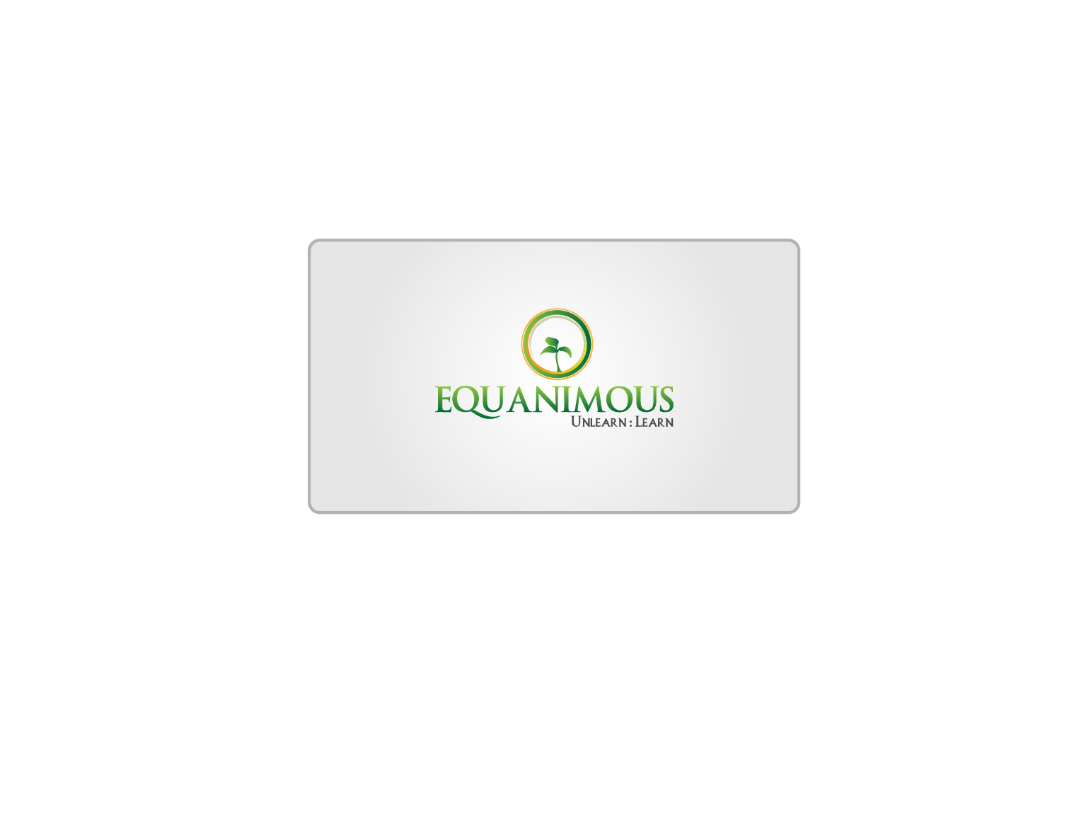 Logo Design by 3draw - Entry No. 240 in the Logo Design Contest Logo Design : EQUANIMOUS : Productivity | Learning | Design.