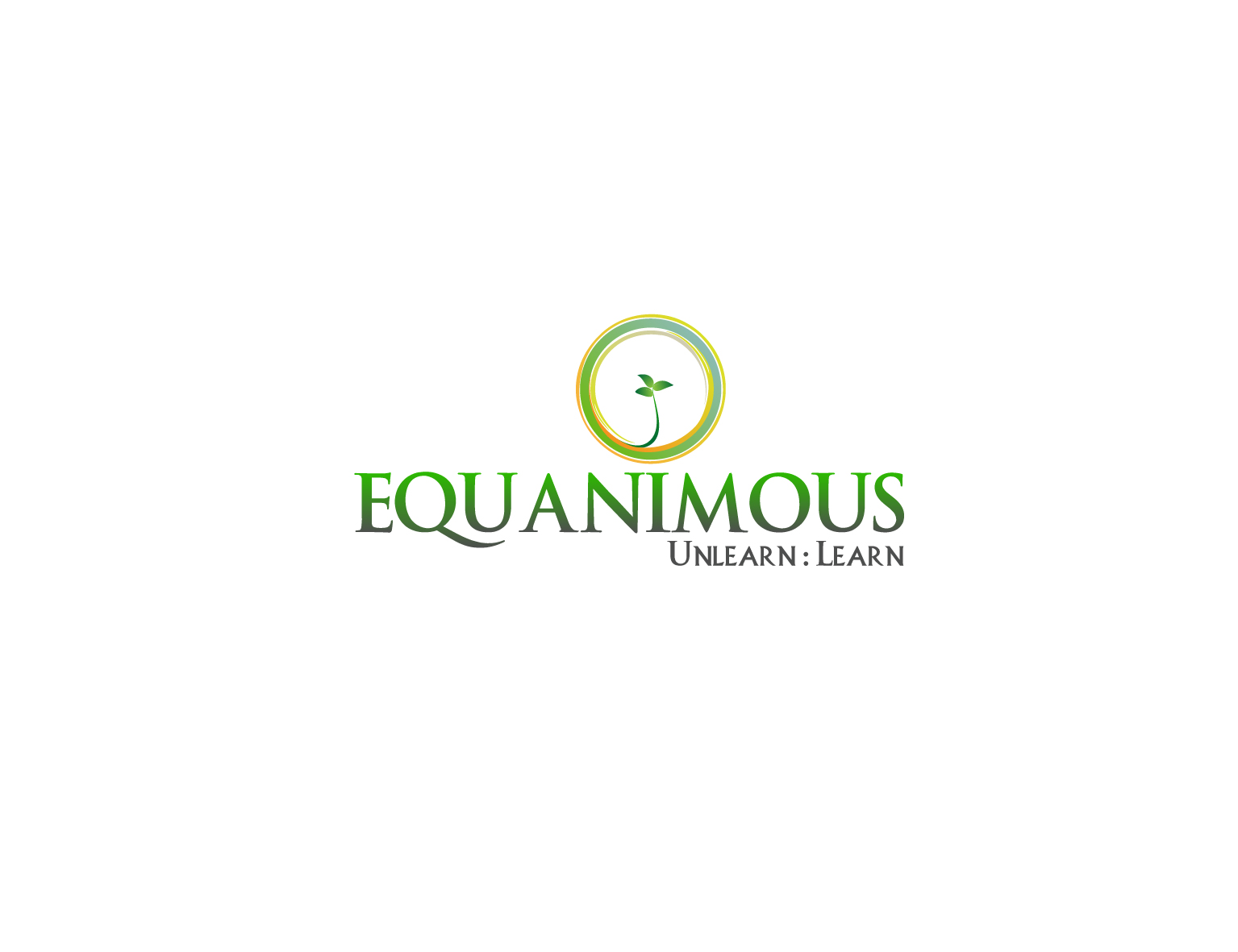 Logo Design by 3draw - Entry No. 247 in the Logo Design Contest Logo Design : EQUANIMOUS : Productivity | Learning | Design.