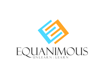 Logo Design by Roy Ferre - Entry No. 250 in the Logo Design Contest Logo Design : EQUANIMOUS : Productivity | Learning | Design.