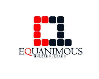 Logo Design by Roy Ferre - Entry No. 256 in the Logo Design Contest Logo Design : EQUANIMOUS : Productivity | Learning | Design.