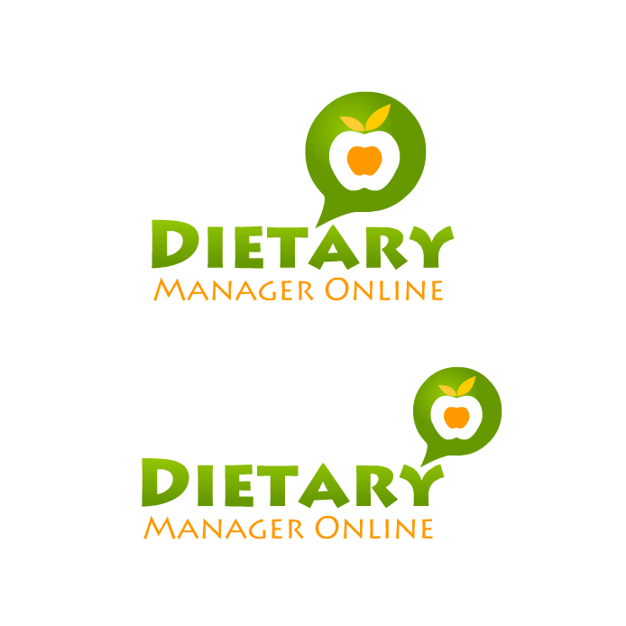 Logo Design by Private User - Entry No. 63 in the Logo Design Contest Fun Logo Design for Dietary Manager Online.