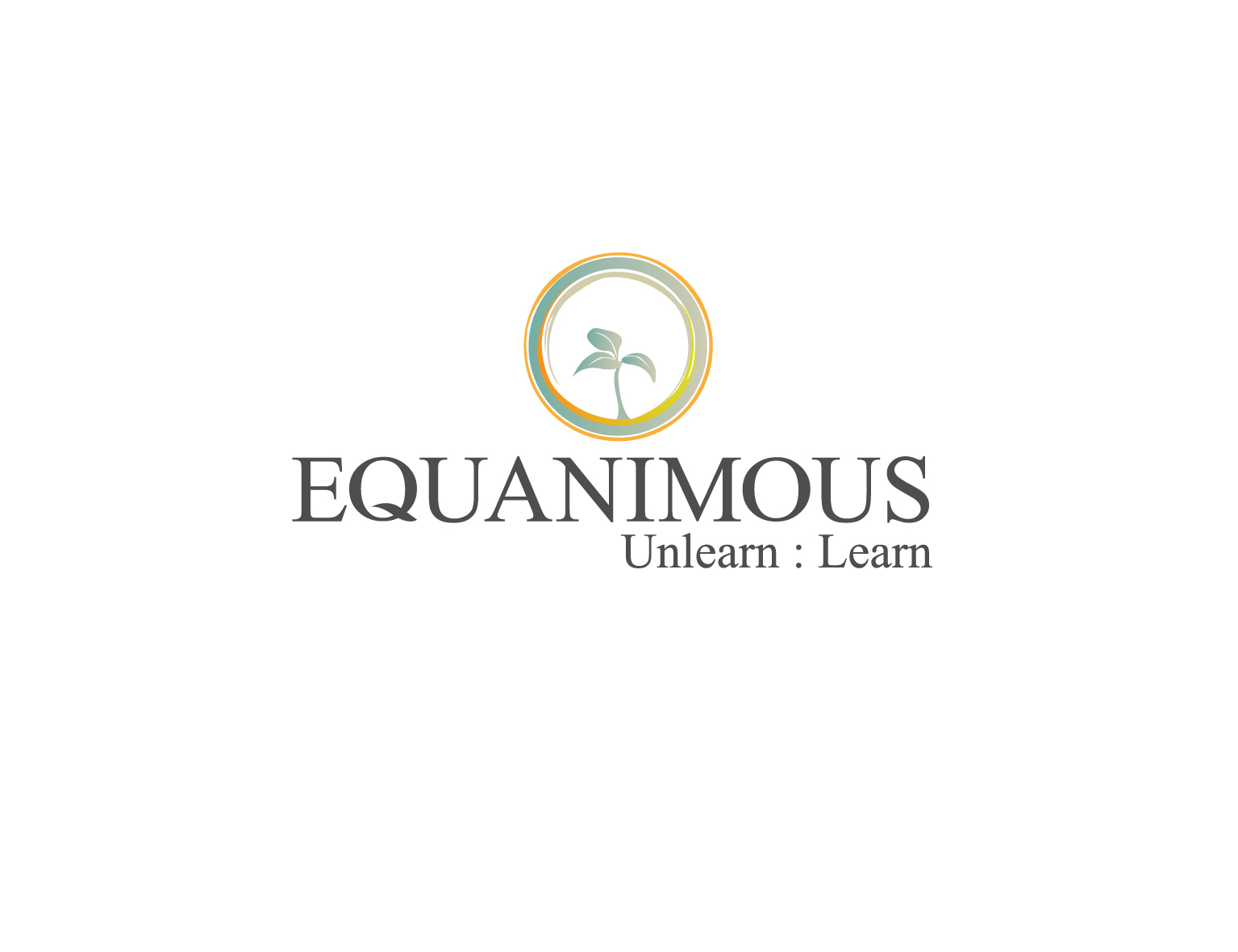 Logo Design by 3draw - Entry No. 293 in the Logo Design Contest Logo Design : EQUANIMOUS : Productivity | Learning | Design.