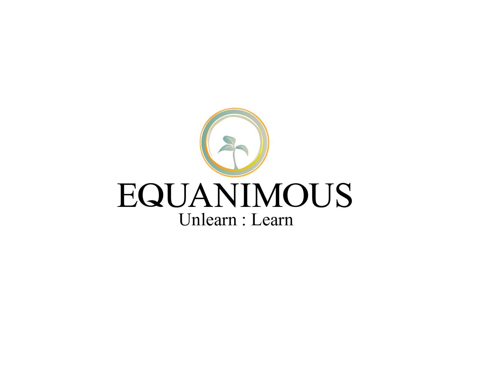 Logo Design by 3draw - Entry No. 297 in the Logo Design Contest Logo Design : EQUANIMOUS : Productivity | Learning | Design.