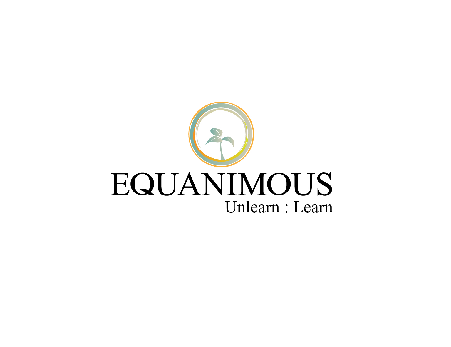 Logo Design by 3draw - Entry No. 298 in the Logo Design Contest Logo Design : EQUANIMOUS : Productivity | Learning | Design.