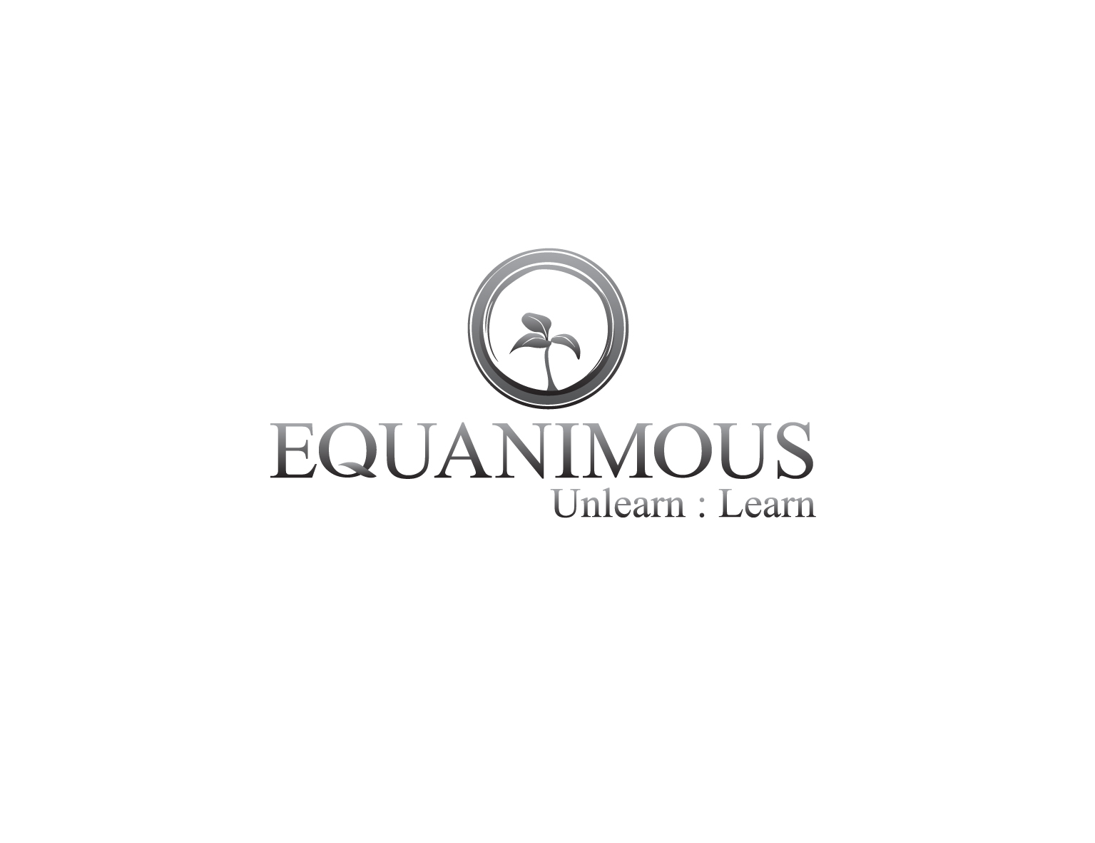 Logo Design by 3draw - Entry No. 300 in the Logo Design Contest Logo Design : EQUANIMOUS : Productivity | Learning | Design.