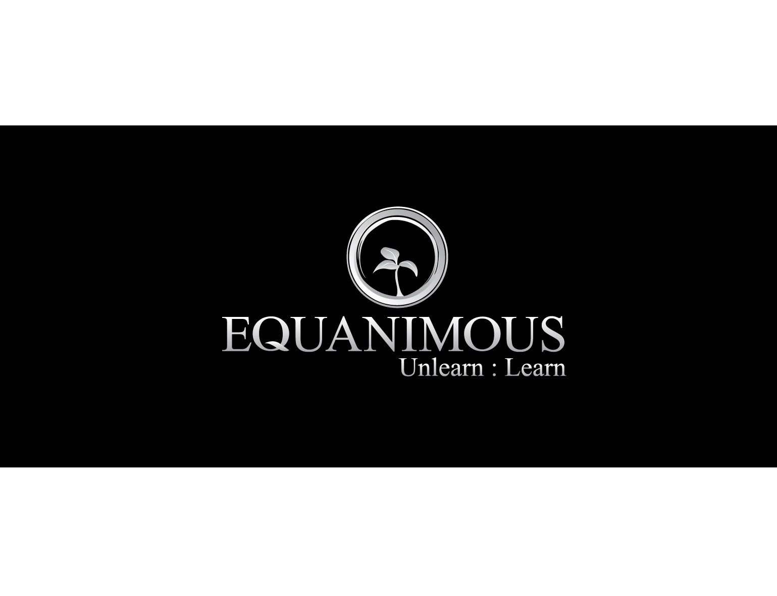 Logo Design by 3draw - Entry No. 301 in the Logo Design Contest Logo Design : EQUANIMOUS : Productivity | Learning | Design.