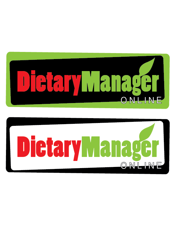 Logo Design by Crizam Santos - Entry No. 66 in the Logo Design Contest Fun Logo Design for Dietary Manager Online.