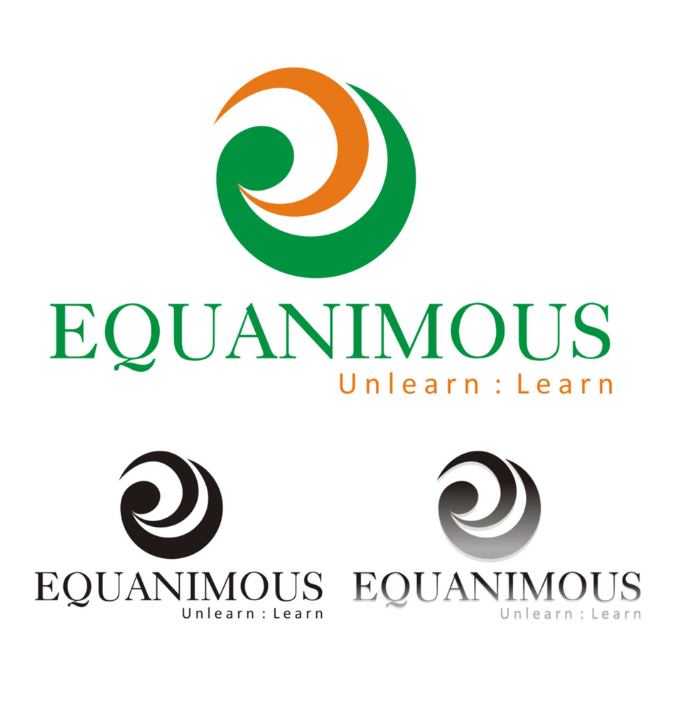 Logo Design by Suroso Suroso - Entry No. 303 in the Logo Design Contest Logo Design : EQUANIMOUS : Productivity | Learning | Design.