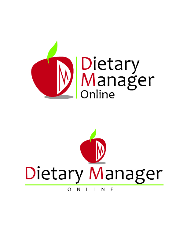Logo Design by Crizam Santos - Entry No. 67 in the Logo Design Contest Fun Logo Design for Dietary Manager Online.