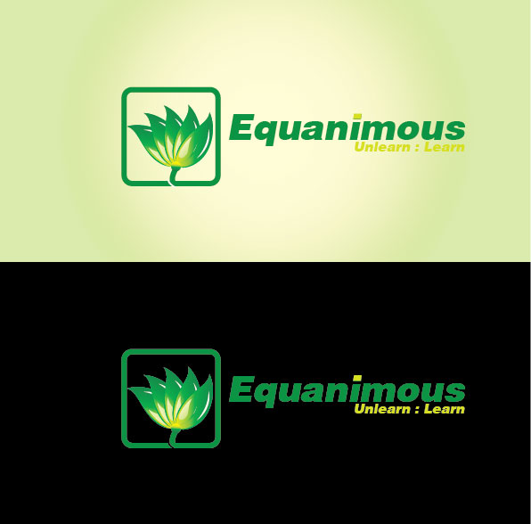 Logo Design by Angel Mido - Entry No. 305 in the Logo Design Contest Logo Design : EQUANIMOUS : Productivity | Learning | Design.