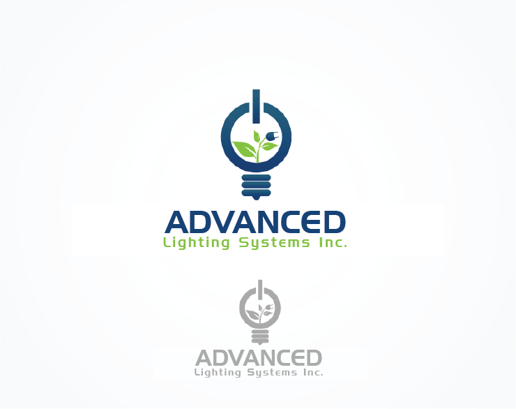 Logo Design by Moin Javed - Entry No. 113 in the Logo Design Contest New Logo Design Needed for  Company Advanced Lighting Systems Inc..