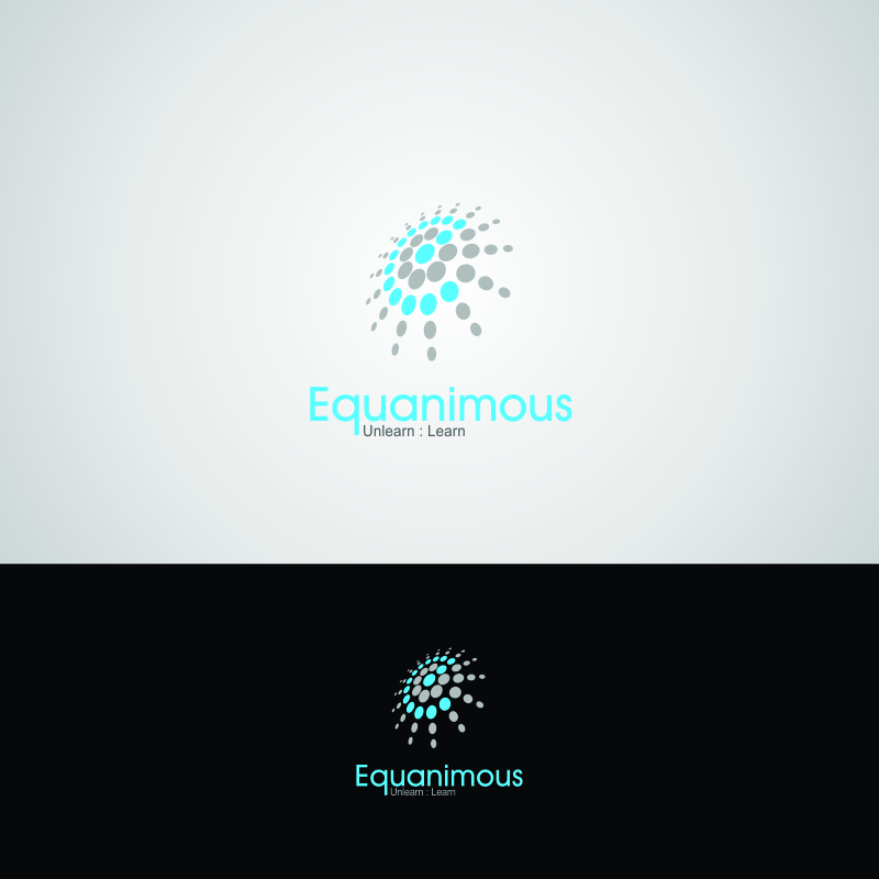 Logo Design by Muhammad Saifuddin - Entry No. 308 in the Logo Design Contest Logo Design : EQUANIMOUS : Productivity | Learning | Design.