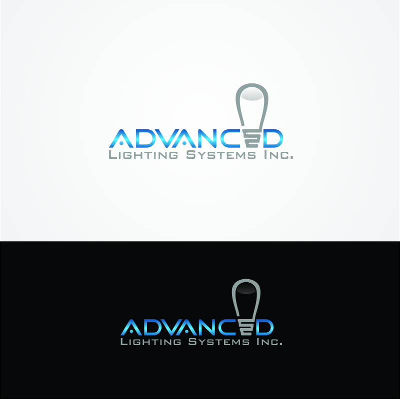 Logo Design by Muhammad Saifuddin - Entry No. 114 in the Logo Design Contest New Logo Design Needed for  Company Advanced Lighting Systems Inc..