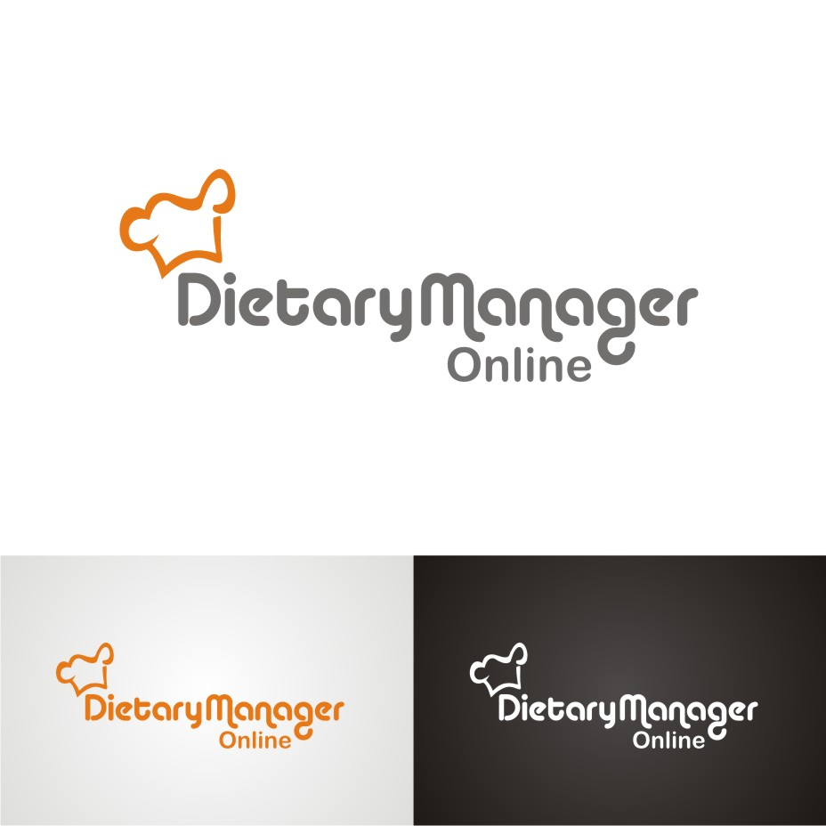 Logo Design by hidra - Entry No. 71 in the Logo Design Contest Fun Logo Design for Dietary Manager Online.