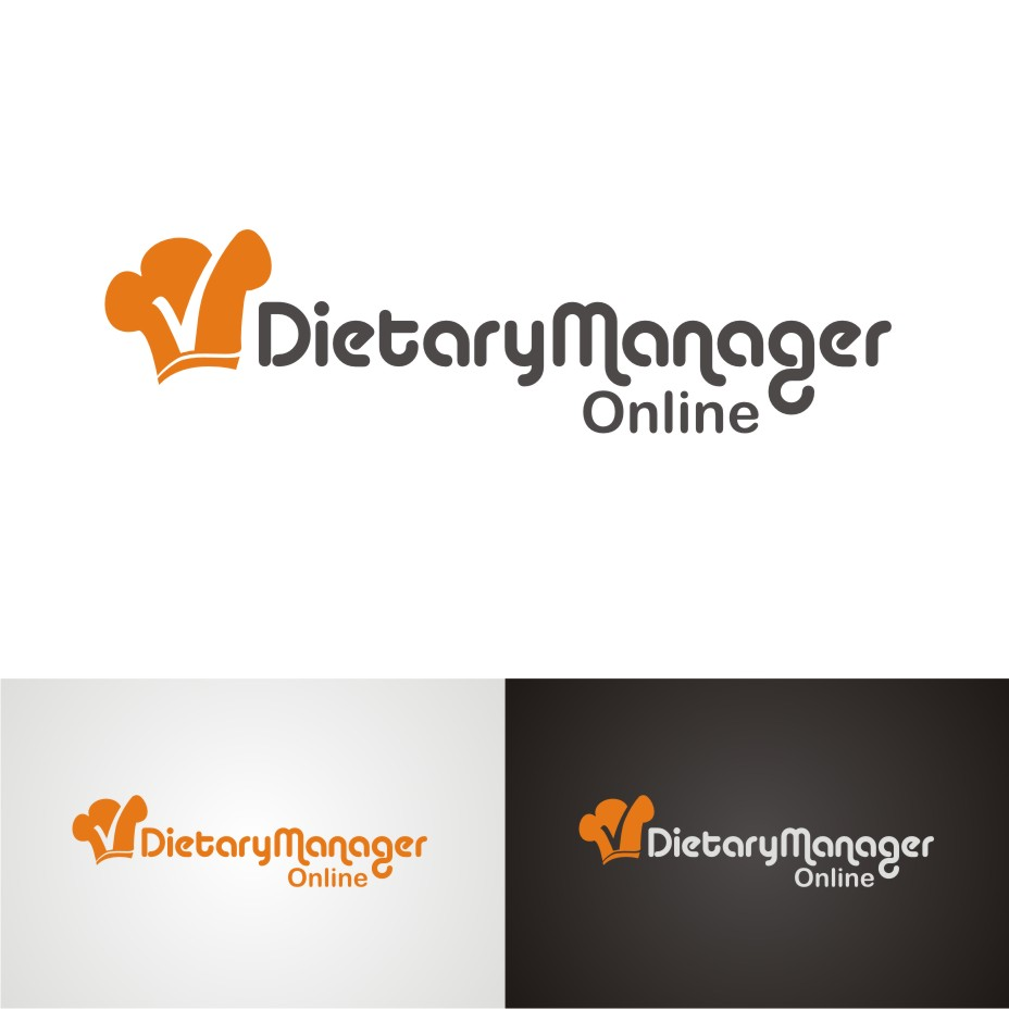 Logo Design by hidra - Entry No. 72 in the Logo Design Contest Fun Logo Design for Dietary Manager Online.