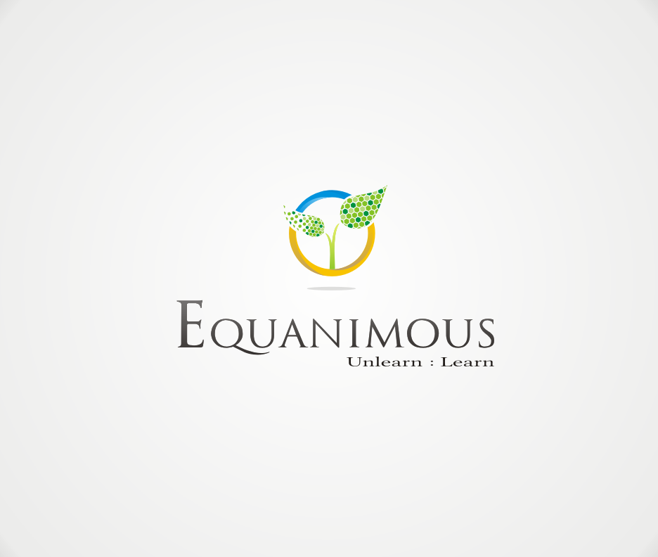 Logo Design by Joe Teach - Entry No. 312 in the Logo Design Contest Logo Design : EQUANIMOUS : Productivity | Learning | Design.
