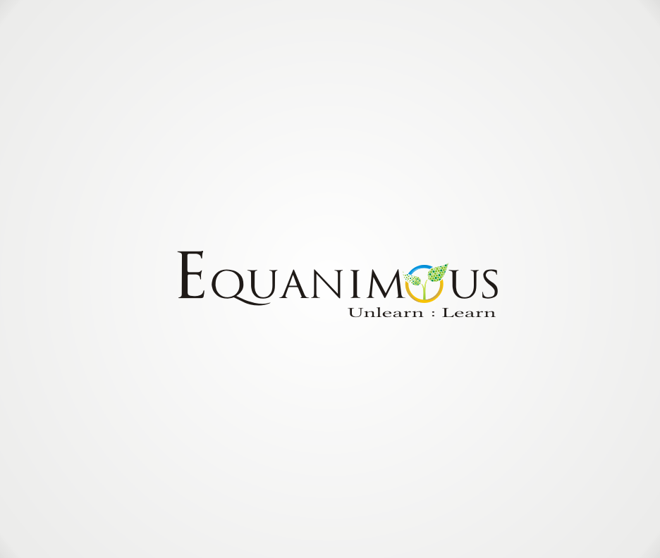 Logo Design by Joe Teach - Entry No. 313 in the Logo Design Contest Logo Design : EQUANIMOUS : Productivity | Learning | Design.