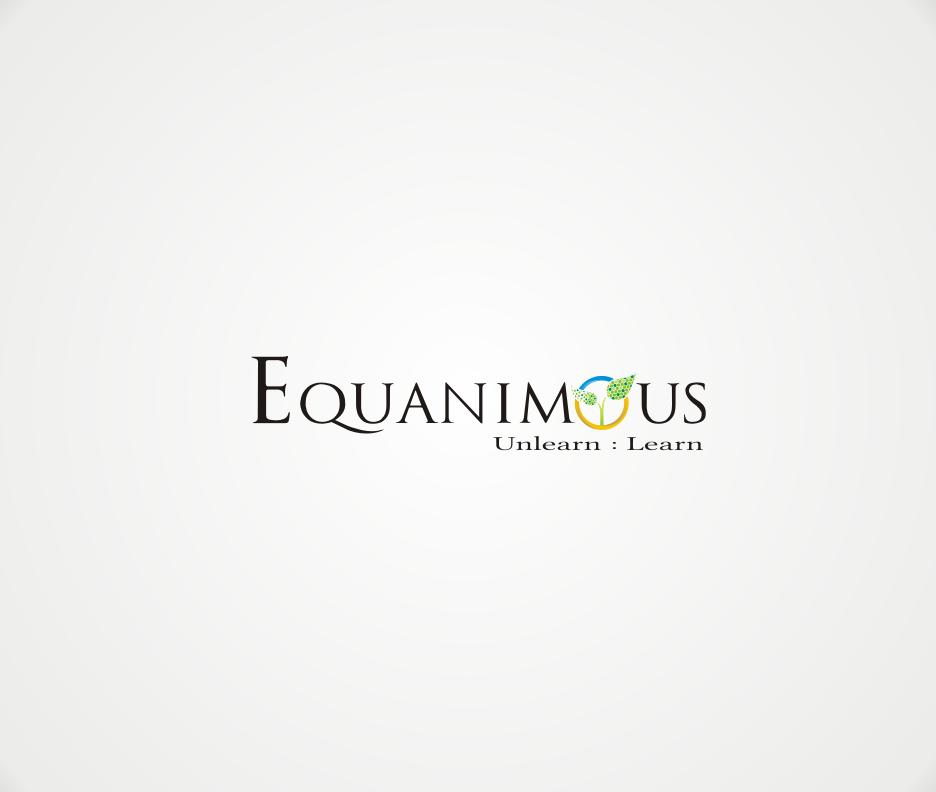 Logo Design by Joe Teach - Entry No. 313 in the Logo Design Contest Logo Design : EQUANIMOUS : Productivity | Learning | Design.