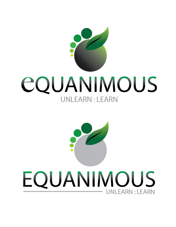 Logo Design by Crizam Santos - Entry No. 314 in the Logo Design Contest Logo Design : EQUANIMOUS : Productivity | Learning | Design.