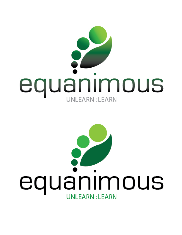 Logo Design by Crizam Santos - Entry No. 315 in the Logo Design Contest Logo Design : EQUANIMOUS : Productivity | Learning | Design.