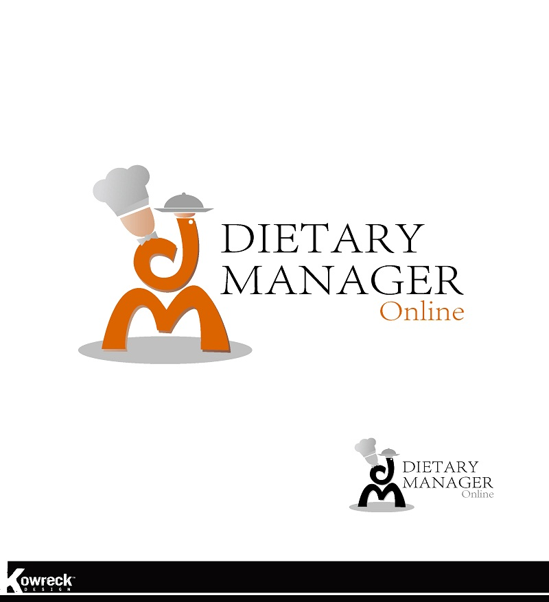 Logo Design by kowreck - Entry No. 73 in the Logo Design Contest Fun Logo Design for Dietary Manager Online.
