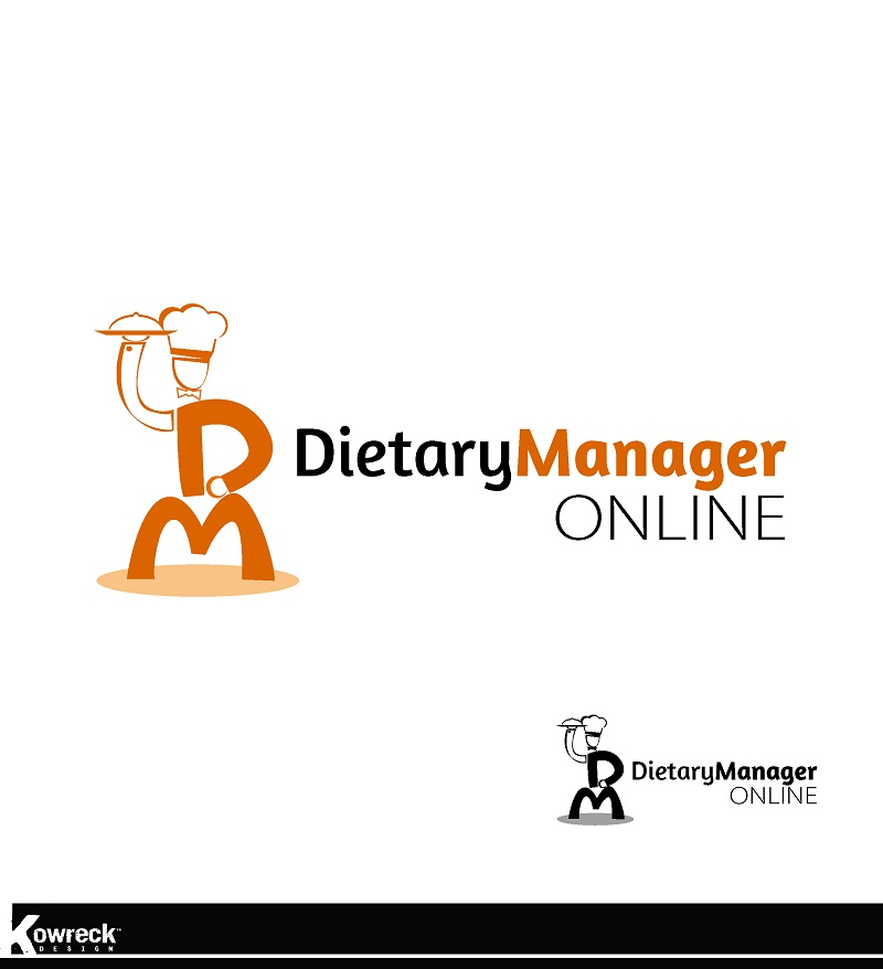 Logo Design by kowreck - Entry No. 74 in the Logo Design Contest Fun Logo Design for Dietary Manager Online.