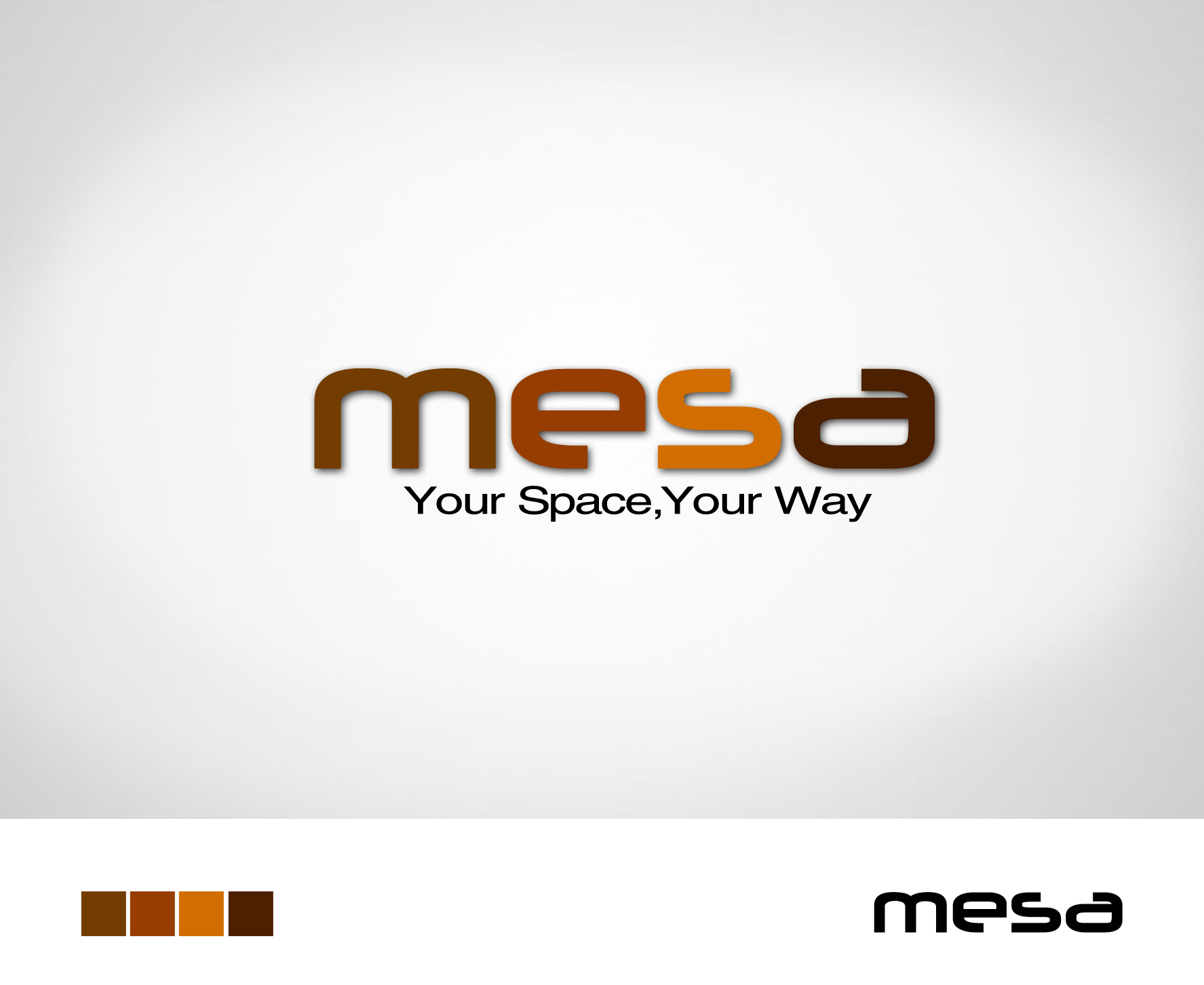 Logo Design by Lama Creative - Entry No. 6 in the Logo Design Contest Logo Design for Mesa.