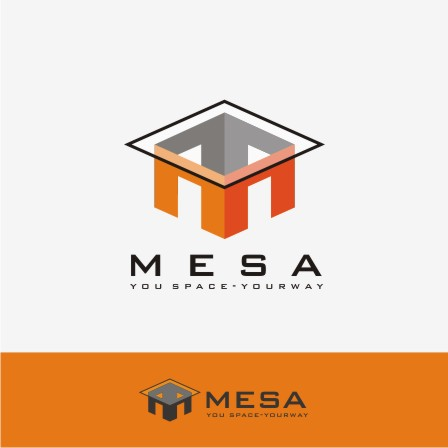 Logo Design by Rayhan Adiatma - Entry No. 18 in the Logo Design Contest Logo Design for Mesa.