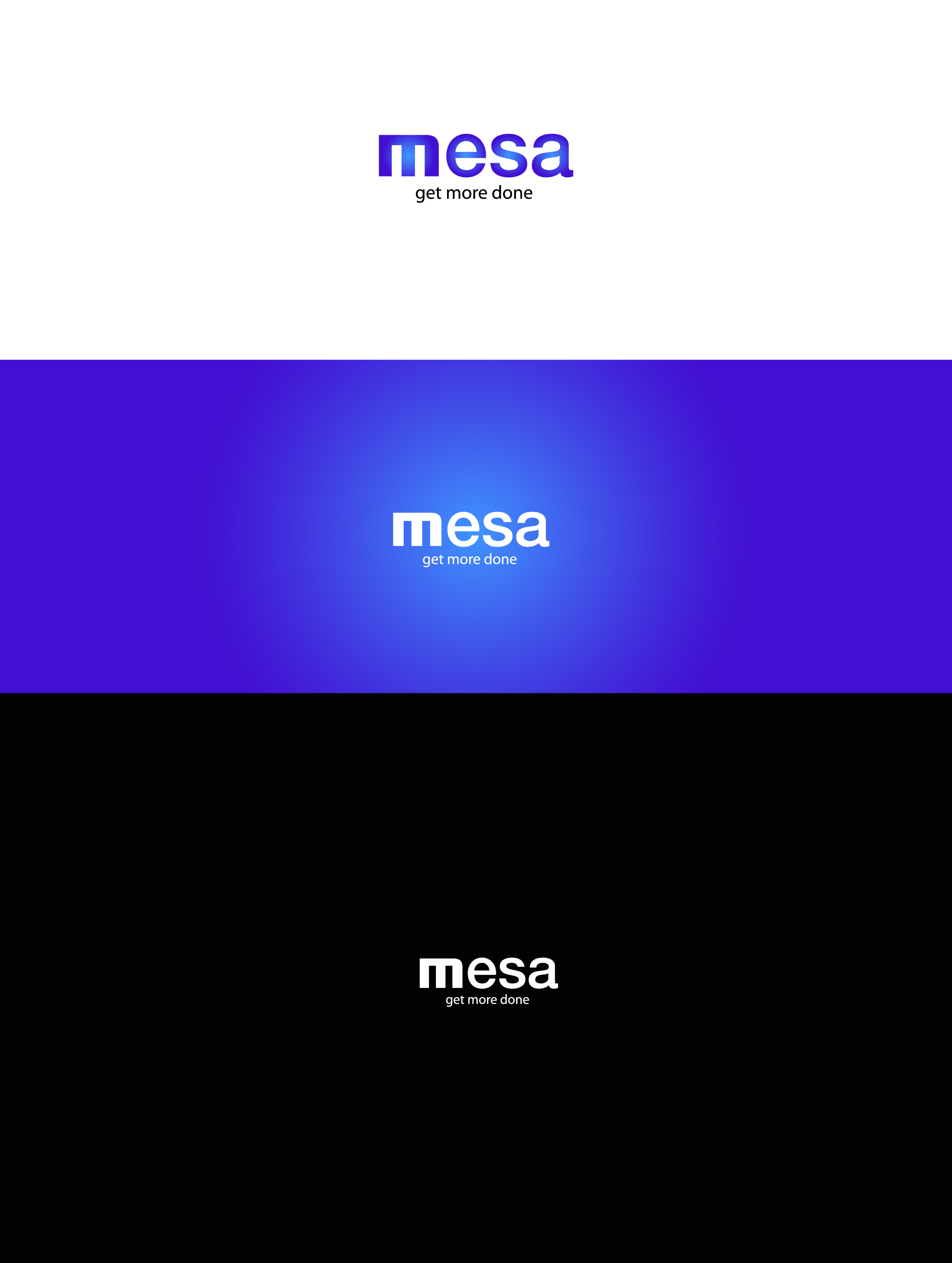 Logo Design by Osi Indra - Entry No. 23 in the Logo Design Contest Logo Design for Mesa.