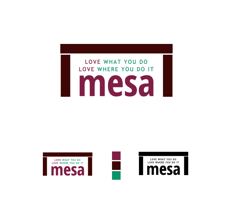 Logo Design by elmd - Entry No. 25 in the Logo Design Contest Logo Design for Mesa.