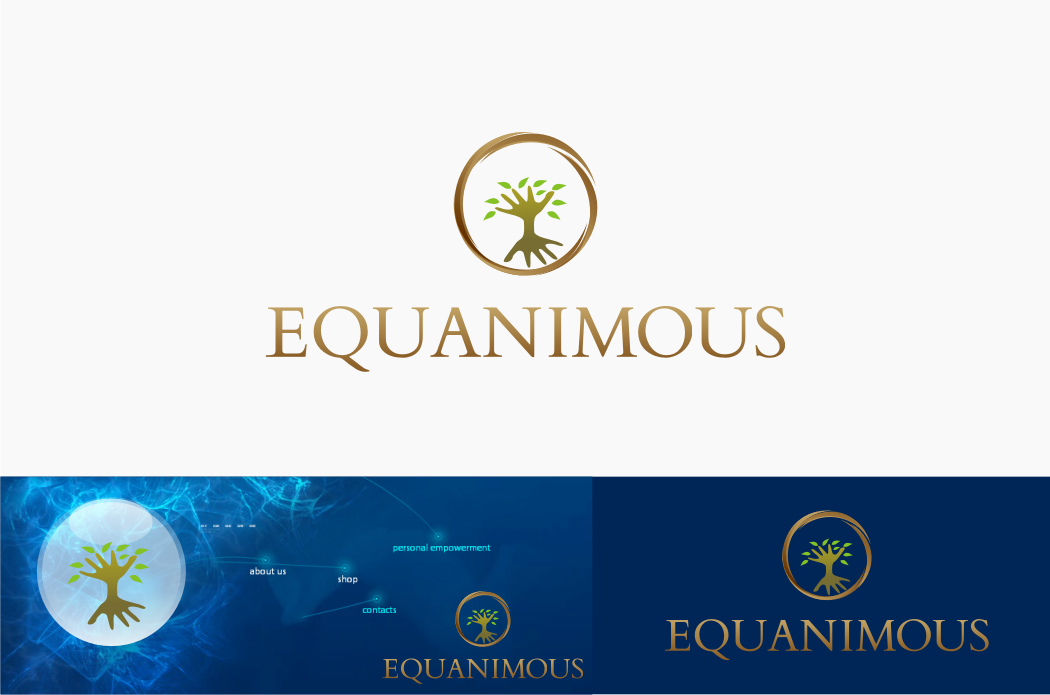 Logo Design by Muhammad Nasrul chasib - Entry No. 322 in the Logo Design Contest Logo Design : EQUANIMOUS : Productivity | Learning | Design.