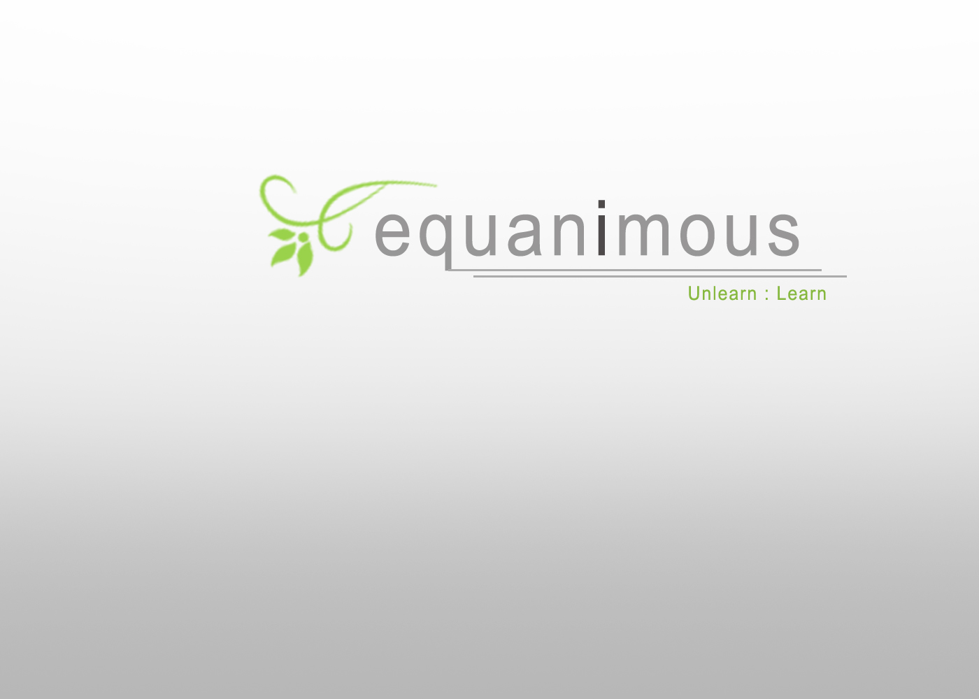 Logo Design by Delgence Technologies  Pvt ltd - Entry No. 323 in the Logo Design Contest Logo Design : EQUANIMOUS : Productivity | Learning | Design.