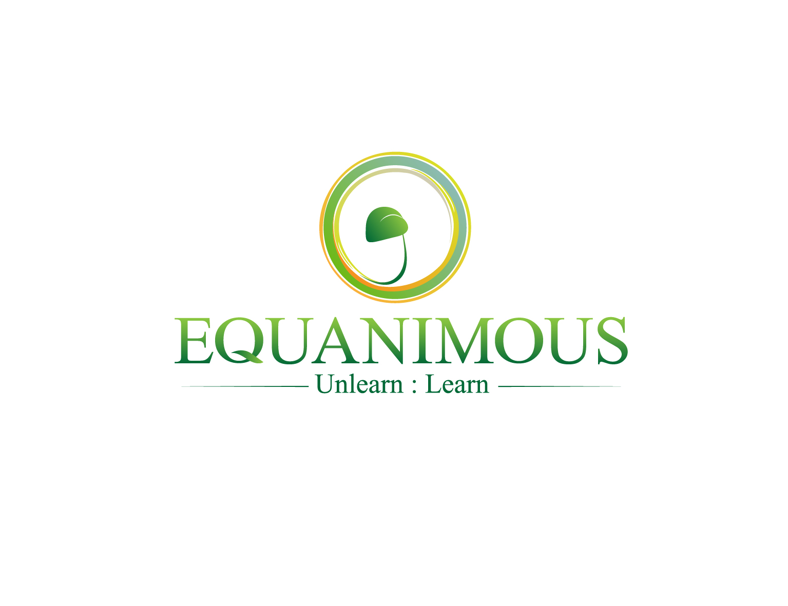 Logo Design by 3draw - Entry No. 325 in the Logo Design Contest Logo Design : EQUANIMOUS : Productivity | Learning | Design.