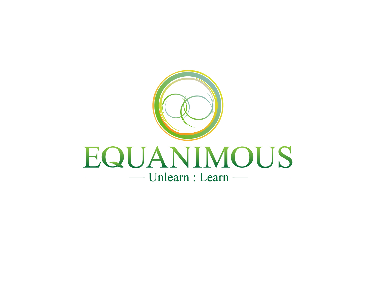Logo Design by 3draw - Entry No. 327 in the Logo Design Contest Logo Design : EQUANIMOUS : Productivity | Learning | Design.