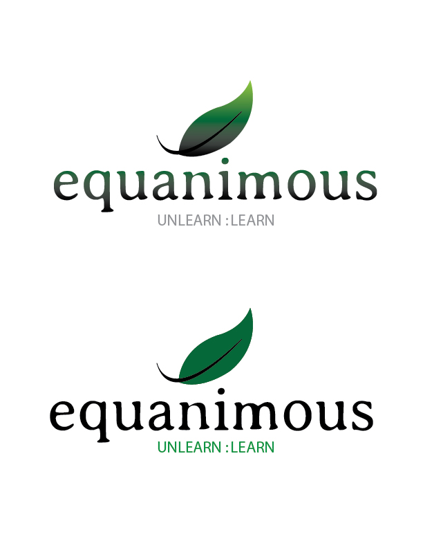 Logo Design by Crizam Santos - Entry No. 329 in the Logo Design Contest Logo Design : EQUANIMOUS : Productivity | Learning | Design.