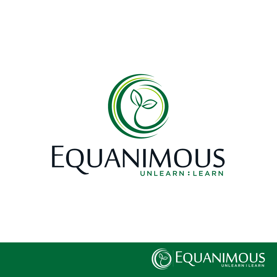 Logo Design by Edward Goodwin - Entry No. 330 in the Logo Design Contest Logo Design : EQUANIMOUS : Productivity | Learning | Design.