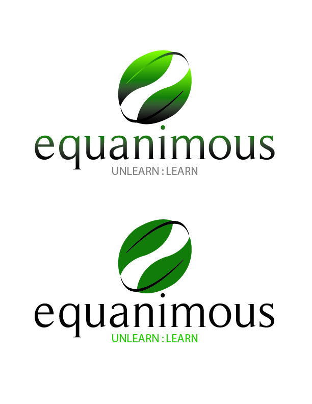 Logo Design by Crizam Santos - Entry No. 331 in the Logo Design Contest Logo Design : EQUANIMOUS : Productivity | Learning | Design.
