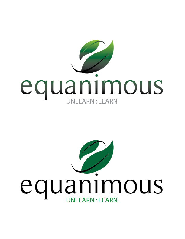 Logo Design by Crizam Santos - Entry No. 332 in the Logo Design Contest Logo Design : EQUANIMOUS : Productivity | Learning | Design.