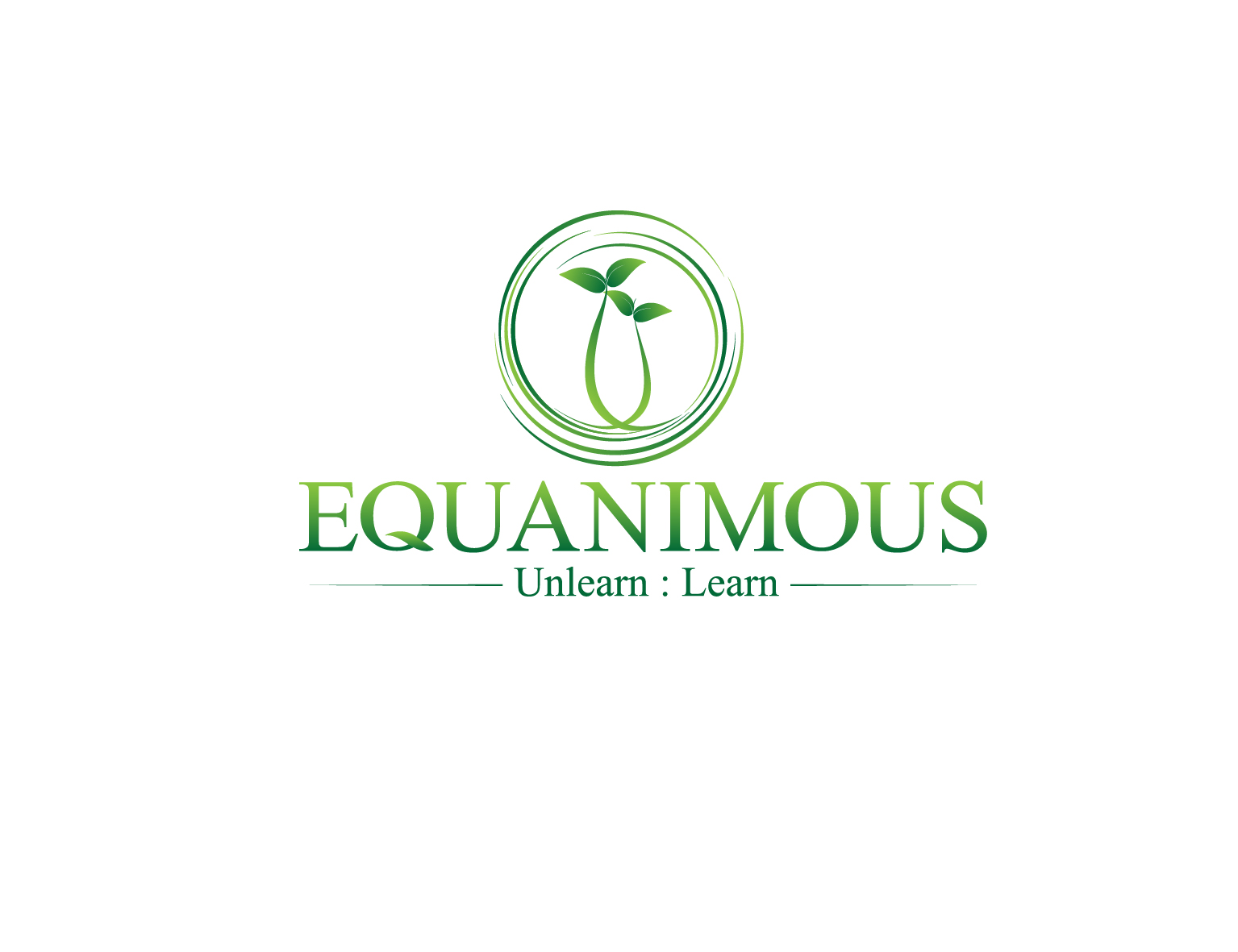 Logo Design by 3draw - Entry No. 333 in the Logo Design Contest Logo Design : EQUANIMOUS : Productivity | Learning | Design.