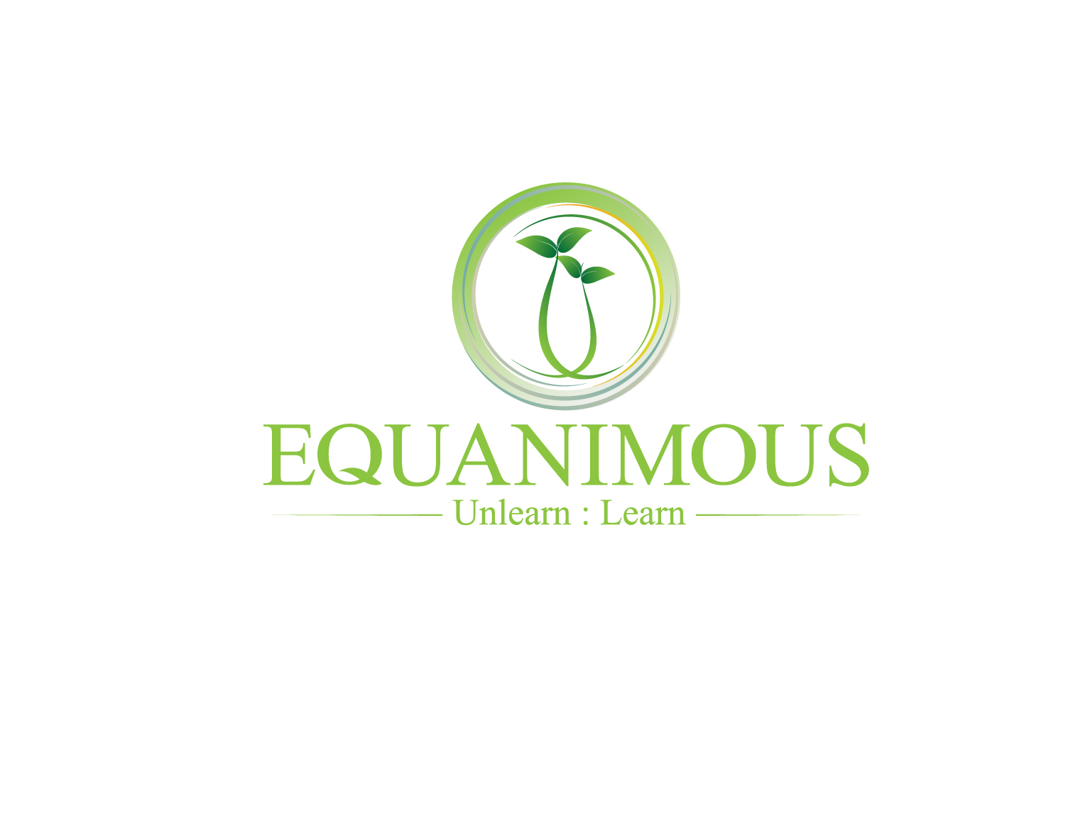 Logo Design by 3draw - Entry No. 335 in the Logo Design Contest Logo Design : EQUANIMOUS : Productivity | Learning | Design.