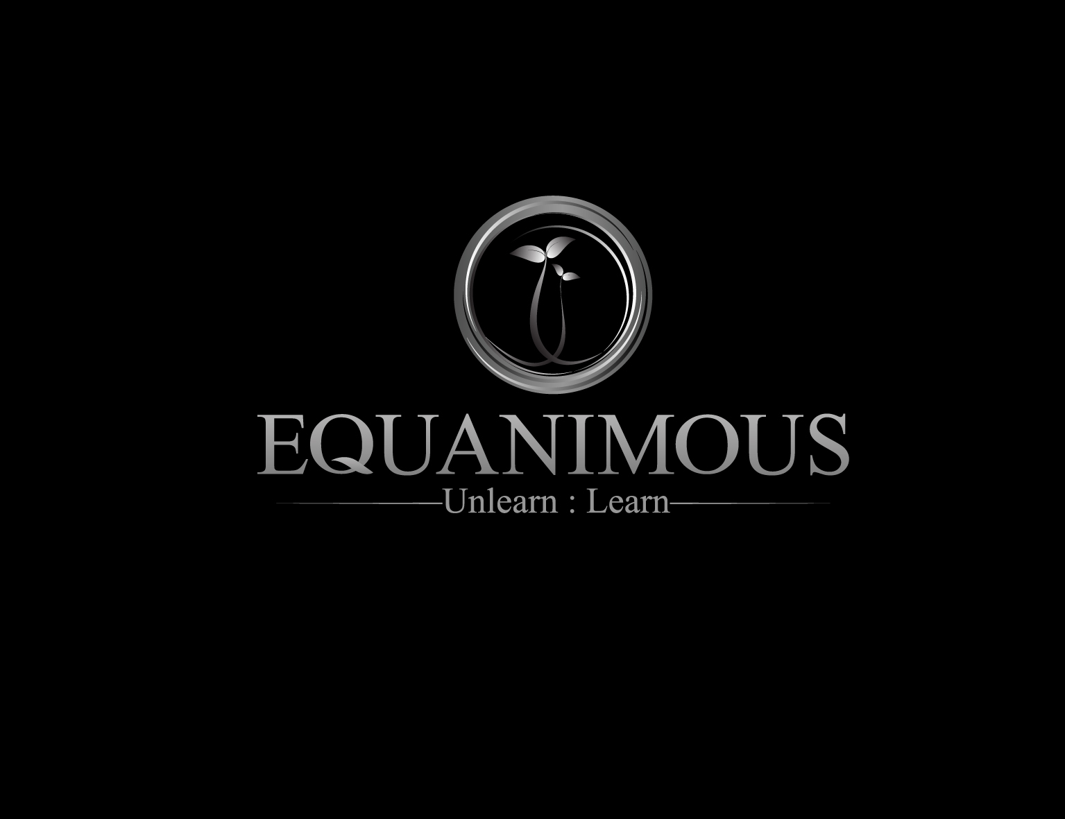 Logo Design by 3draw - Entry No. 338 in the Logo Design Contest Logo Design : EQUANIMOUS : Productivity | Learning | Design.