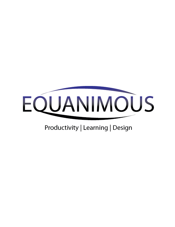Logo Design by Crizam Santos - Entry No. 341 in the Logo Design Contest Logo Design : EQUANIMOUS : Productivity | Learning | Design.