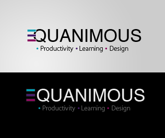 Logo Design by liboy - Entry No. 346 in the Logo Design Contest Logo Design : EQUANIMOUS : Productivity | Learning | Design.