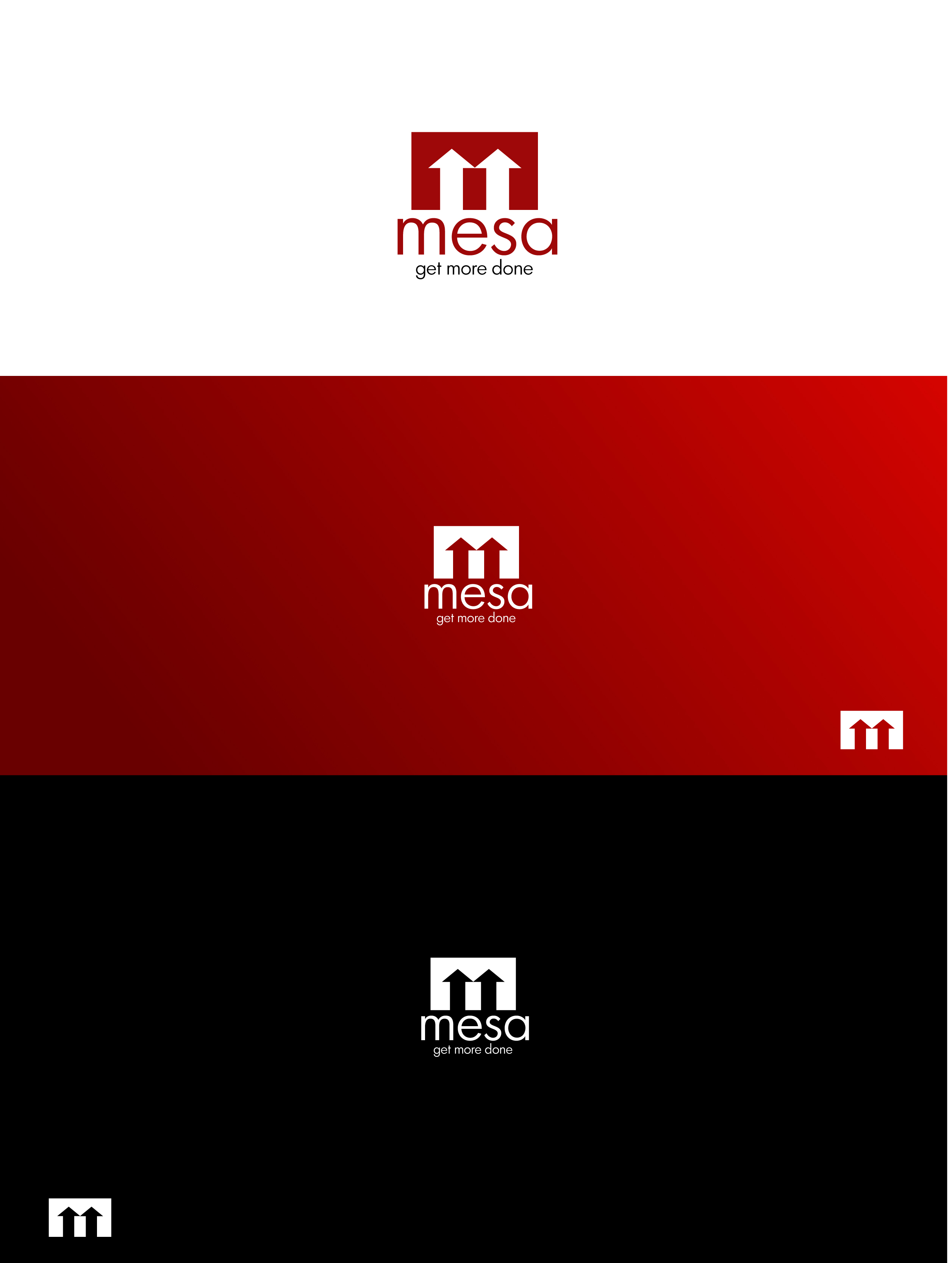 Logo Design by Osi Indra - Entry No. 42 in the Logo Design Contest Logo Design for Mesa.