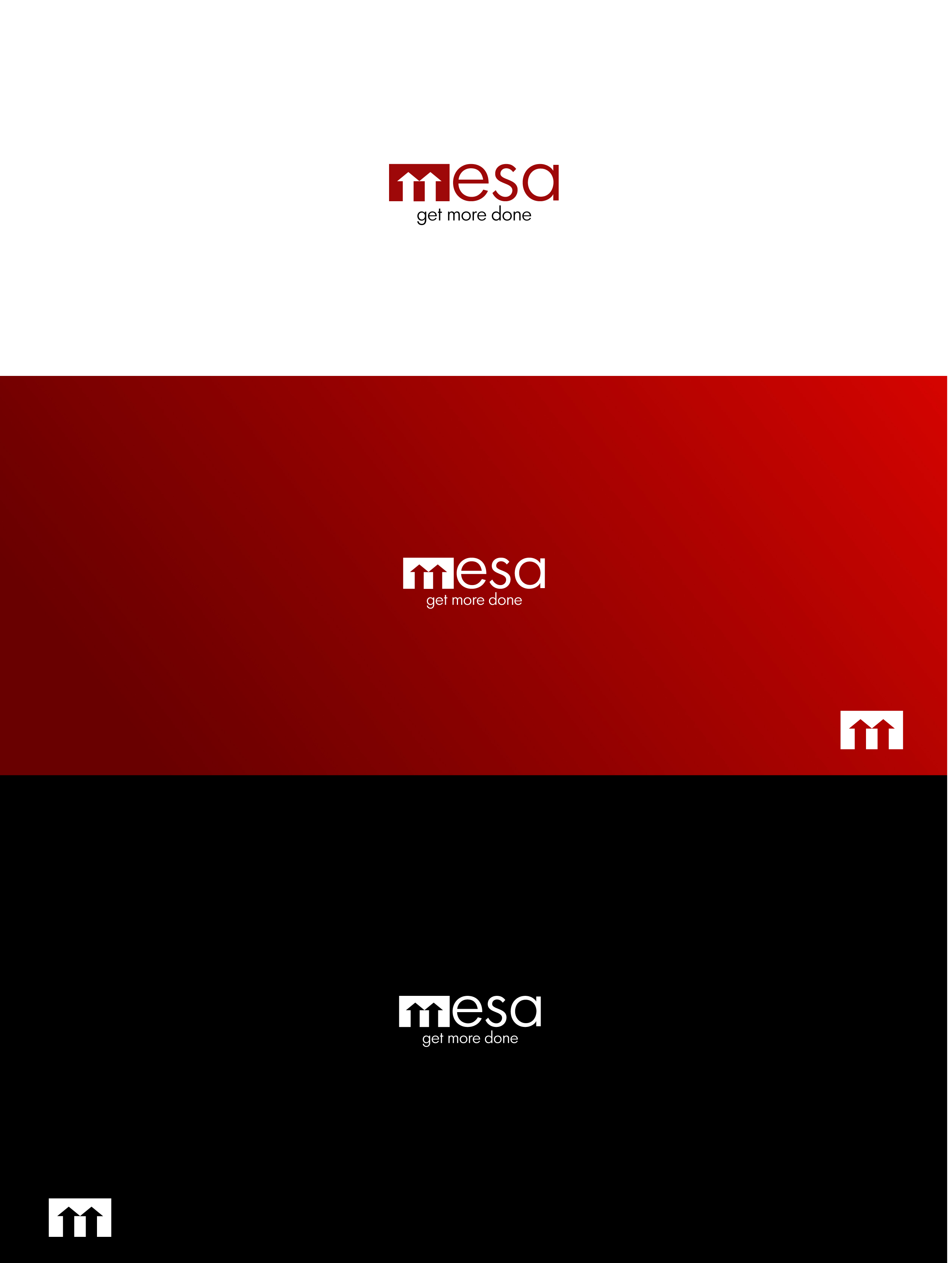 Logo Design by Osi Indra - Entry No. 43 in the Logo Design Contest Logo Design for Mesa.
