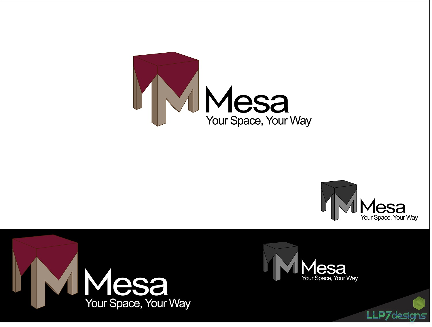 Logo Design by LLP7 - Entry No. 44 in the Logo Design Contest Logo Design for Mesa.