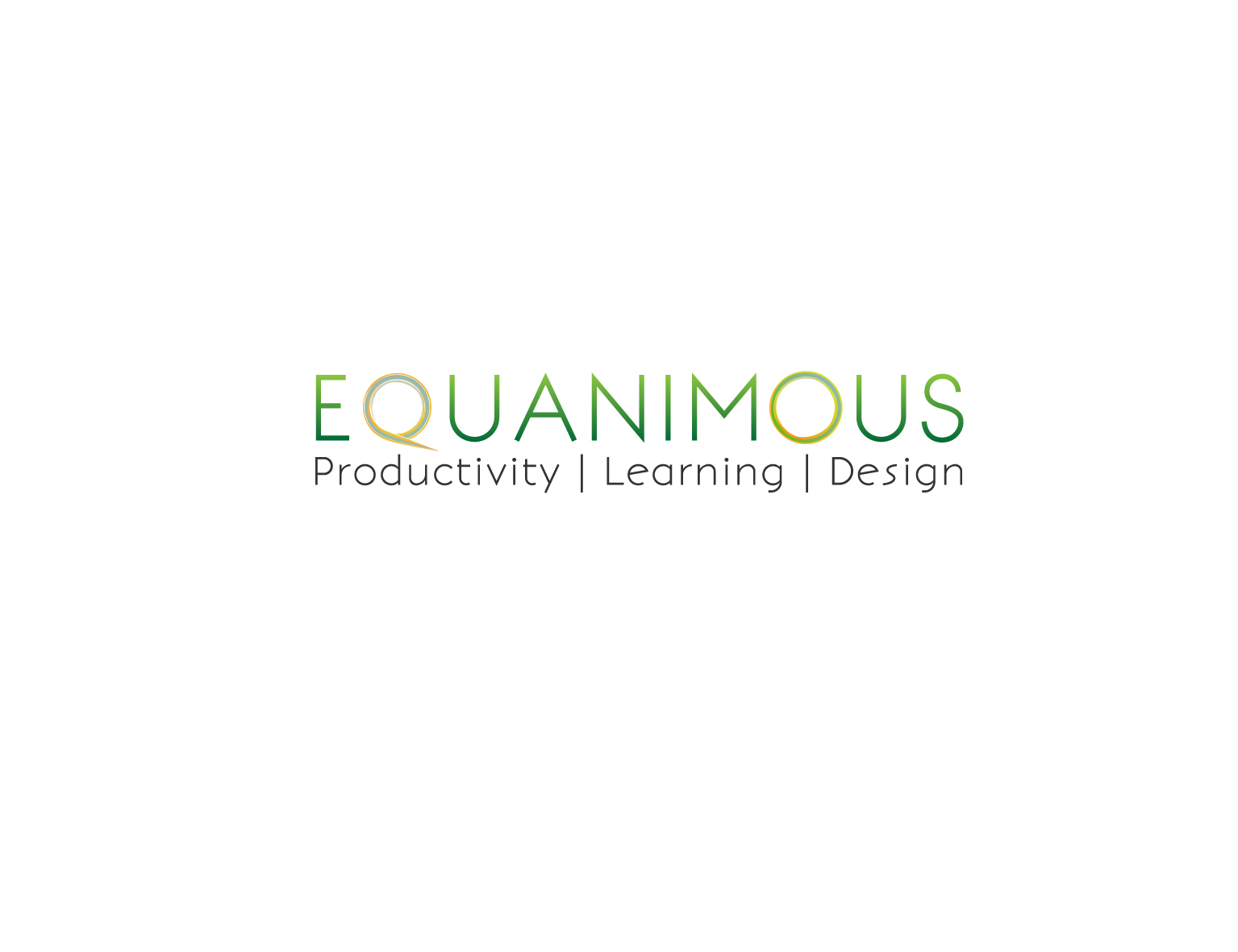Logo Design by 3draw - Entry No. 353 in the Logo Design Contest Logo Design : EQUANIMOUS : Productivity | Learning | Design.