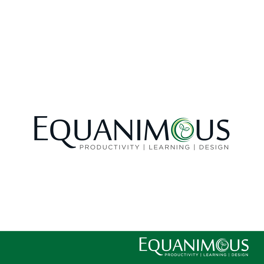 Logo Design by Edward Goodwin - Entry No. 355 in the Logo Design Contest Logo Design : EQUANIMOUS : Productivity | Learning | Design.