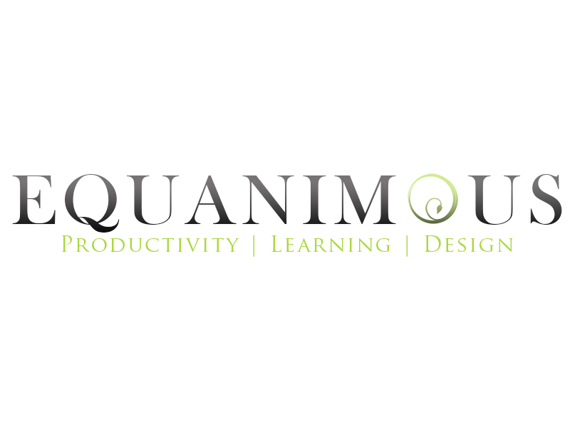 Logo Design by Mythos Designs - Entry No. 357 in the Logo Design Contest Logo Design : EQUANIMOUS : Productivity | Learning | Design.