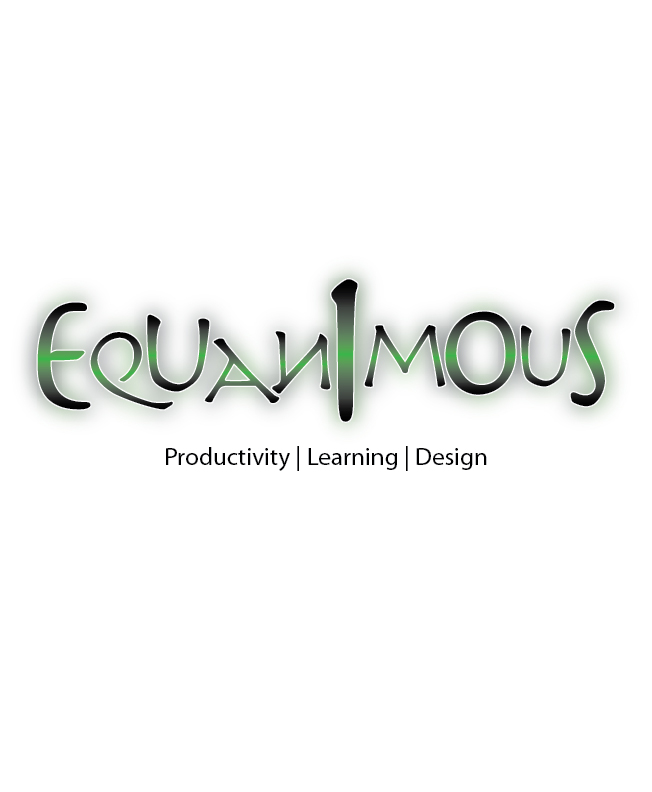 Logo Design by Crizam Santos - Entry No. 367 in the Logo Design Contest Logo Design : EQUANIMOUS : Productivity | Learning | Design.